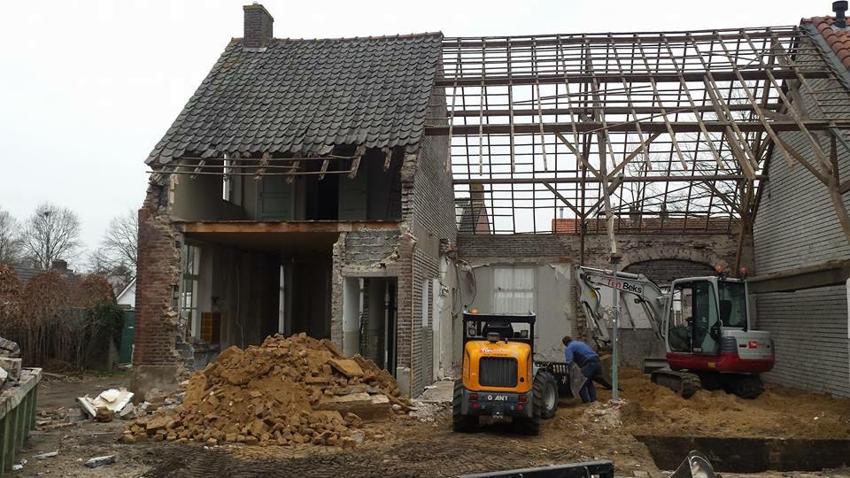 Start bouw Monumentale Boerderij | Nuenen